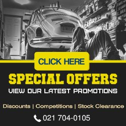 Motor Spares Promotions and Special Offers