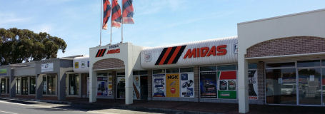 Our Suburban Midas Auto Spares Shop in Vredenburg (West Coast)
